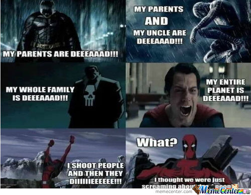 Deadpool Being Awesome P.s. I Know It Is A Repost P.s.s. 0 F**cks Given