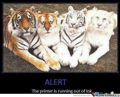 Dear God Your Printer...