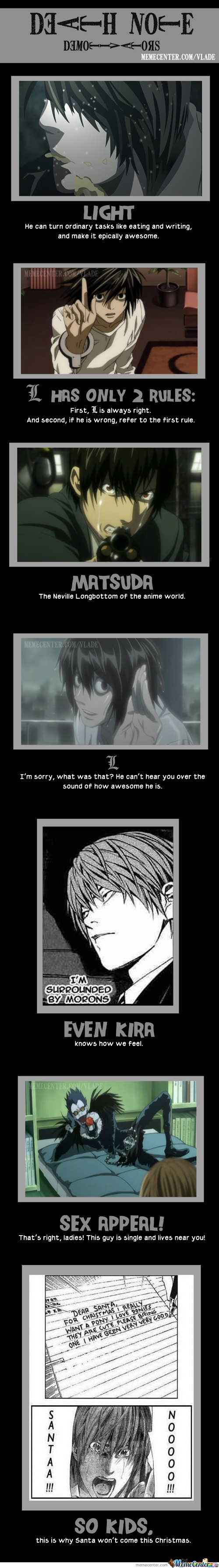Death Note Demotivators!