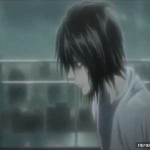 Death Note Ls Best Quote On A Rainy Day By Recyclebin Meme Center
