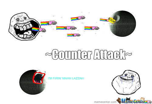 Death Star Vs. Forever Alone