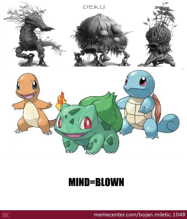 deku monsters from loz look like kanto starters from pokemon_o_2853447 deku monsters from loz look like kanto starters from pokemon by