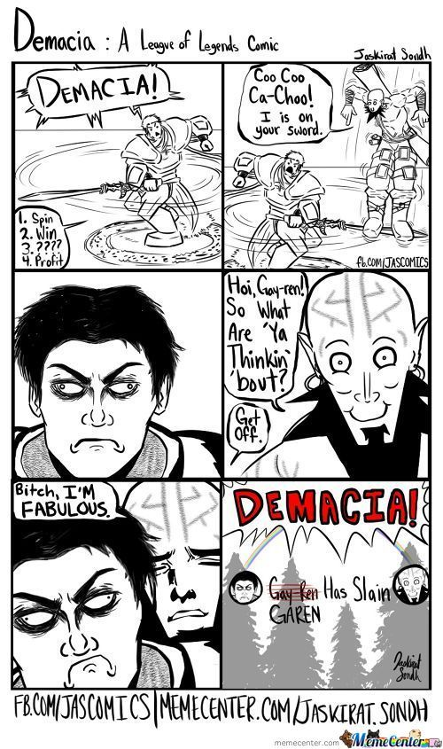 Demacia: A League Of Legends Comic