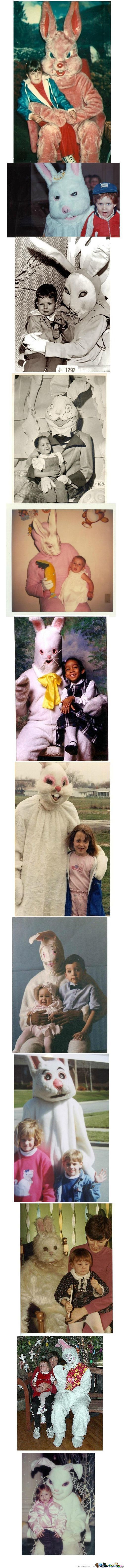 Demonic Easter Bunnies