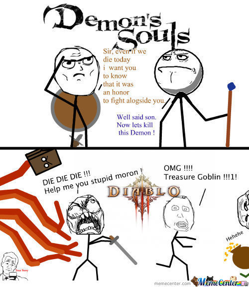 Demon's Souls Is A Gentelmans Choice