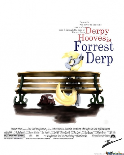 Derpy Hooves is Forrest Derp