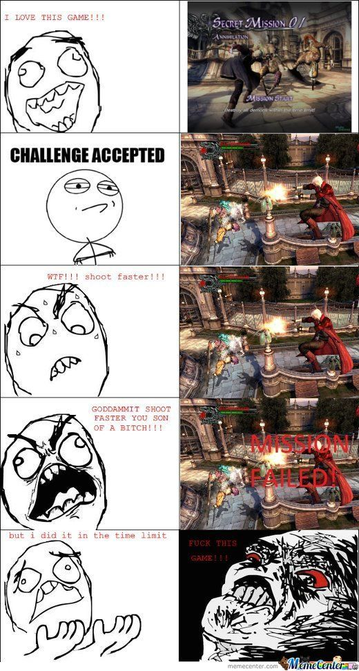 Devil May Cry Rage by damdude - Meme Center