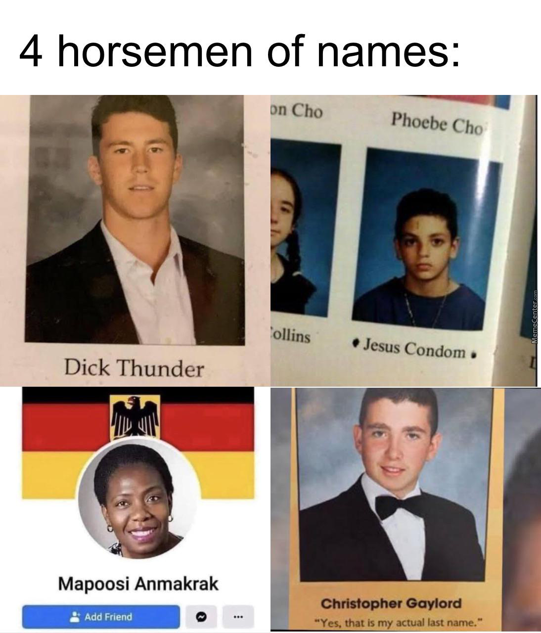 Dick Thunder Is My Cousin