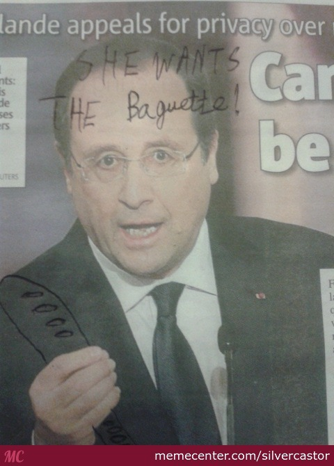 Did A Bit Of Irl Mc Bulider On My City's Newspaper Over The Affairt Allegations Of The French Primemister