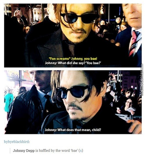 Did She Just Call Johnny Depp Shit ?