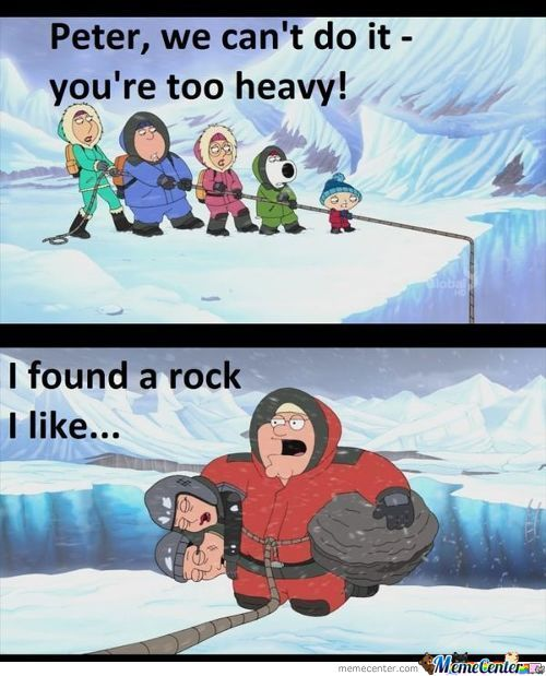 Did You Ever Have A Favorite Rock. Peter Did.