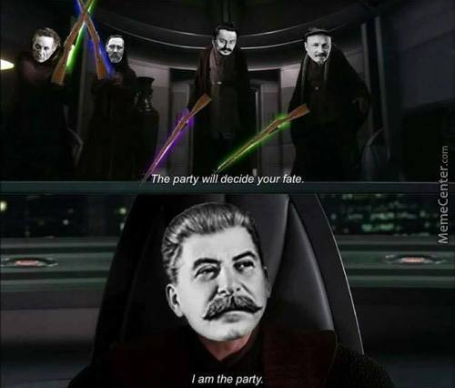 Did You Ever Hear The Tragedy Of Darth Lenin The Wise?
