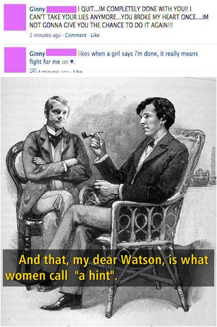 Did You Get It Watson?