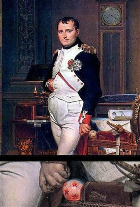 Did You Know Napoleon Had A Dragonball?
