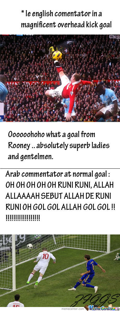 Difference Between English And Arab Commentator