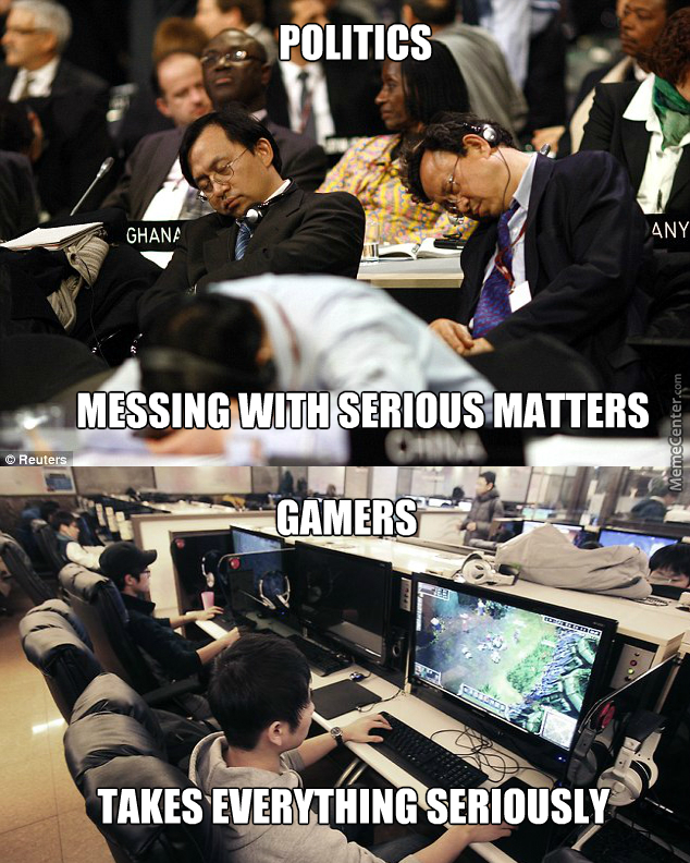 Difference Between Politics And Gamers