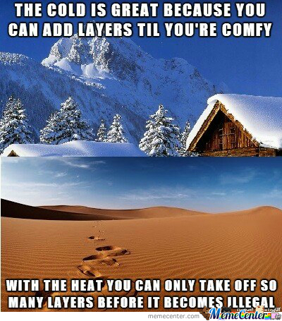 Differences Between Hot And Cold