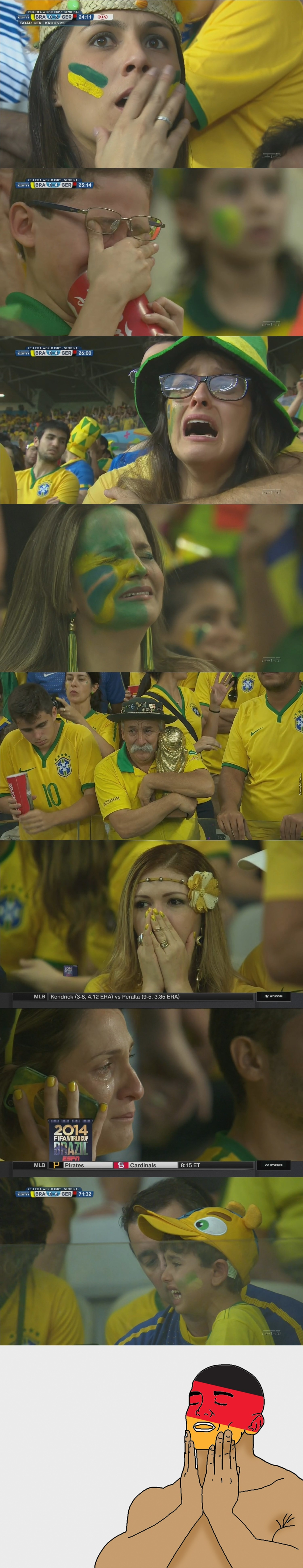 Different Faces Of Defeat.