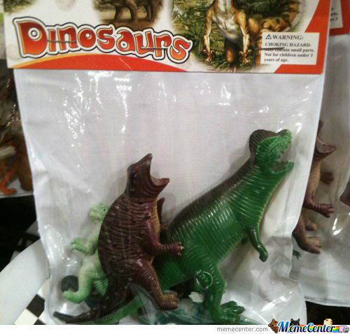 Dinosaurs Romantic