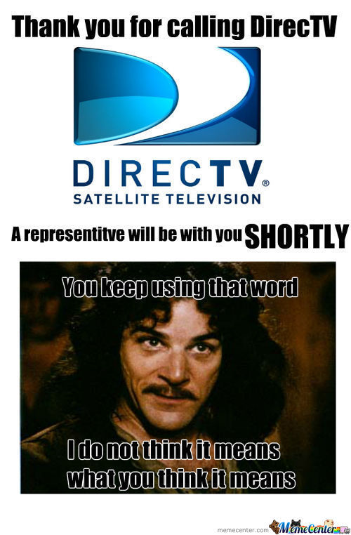 Directv Is Inconceivable