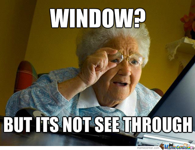 Really Funny Memes Dirty : Dirty window by ian berryman meme center