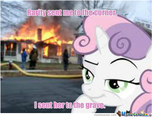 Disaster Sweetie Belle (My Version)