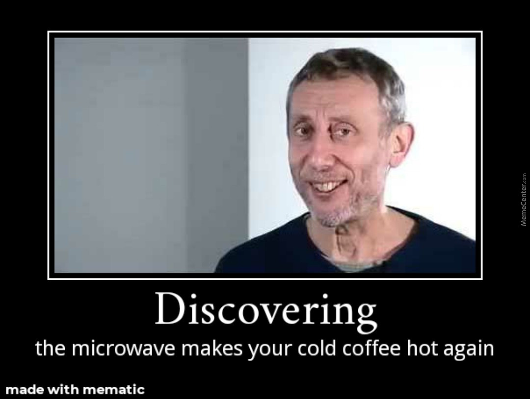 Discovering The Microwave Makes Your Cold Coffee Hot Again