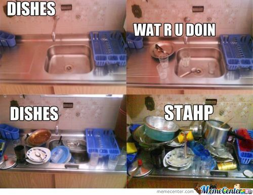 Dishes Stahp
