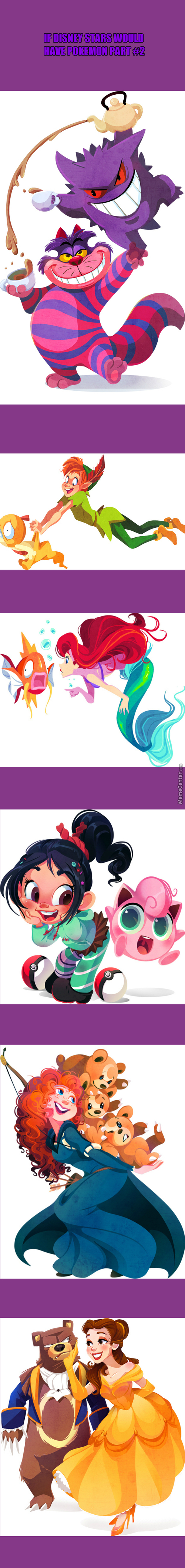 Disney Stars There Pokemon Part 2