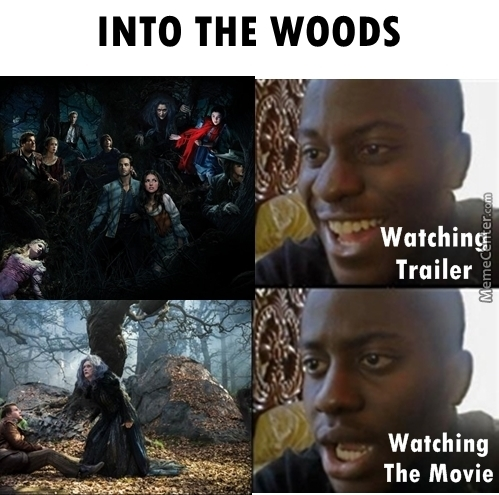 Dissapointed - Into The Woods