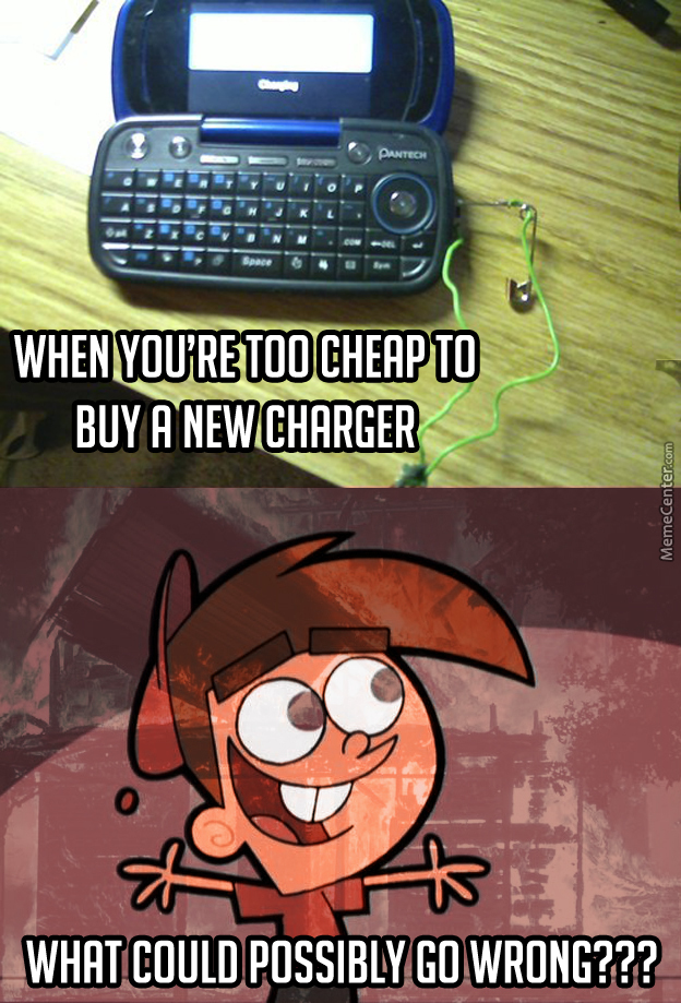 Do it yourself charger by totallyrandomdude meme center do it yourself charger solutioingenieria Image collections