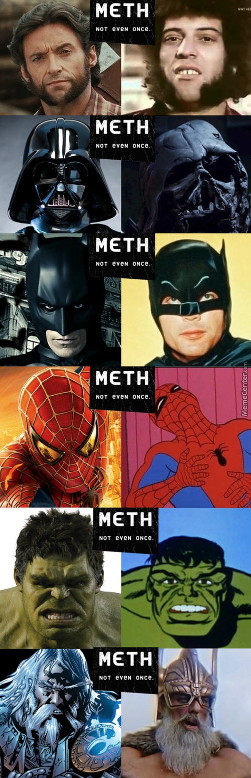 Do Not Use Drugs Kiddos Look What It Does To Your Favourite Childhood Heroes