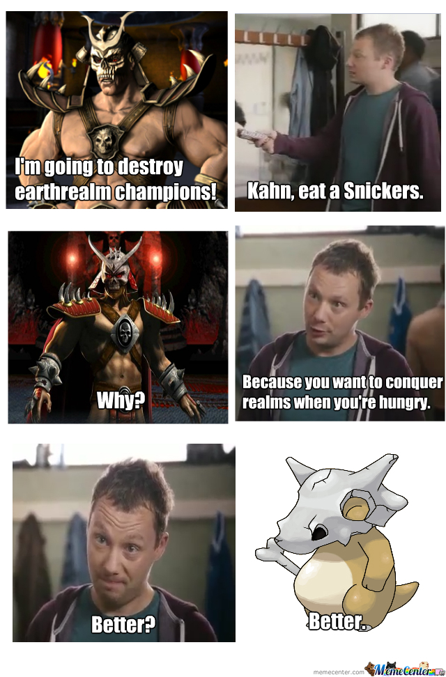 Do They Even Have Snickers In Outworld?