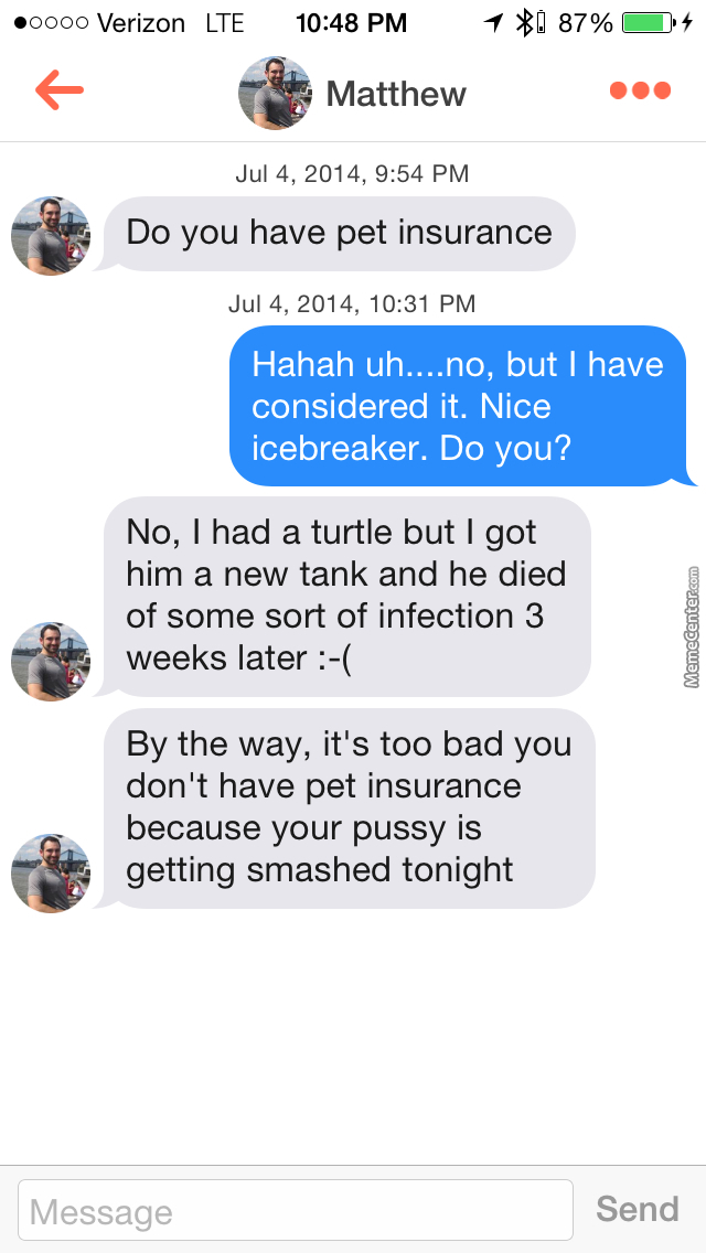 Funny first message online dating examples