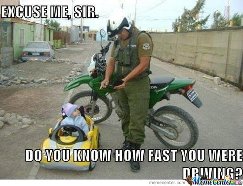 Do You Know How Fast You Were Driving?