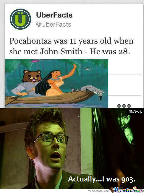 Doctor Who-10Th Doctor ( John Smith) He Wasn't 28.....he Was 903.