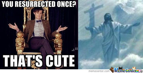 Doctor Who Strikes Again!