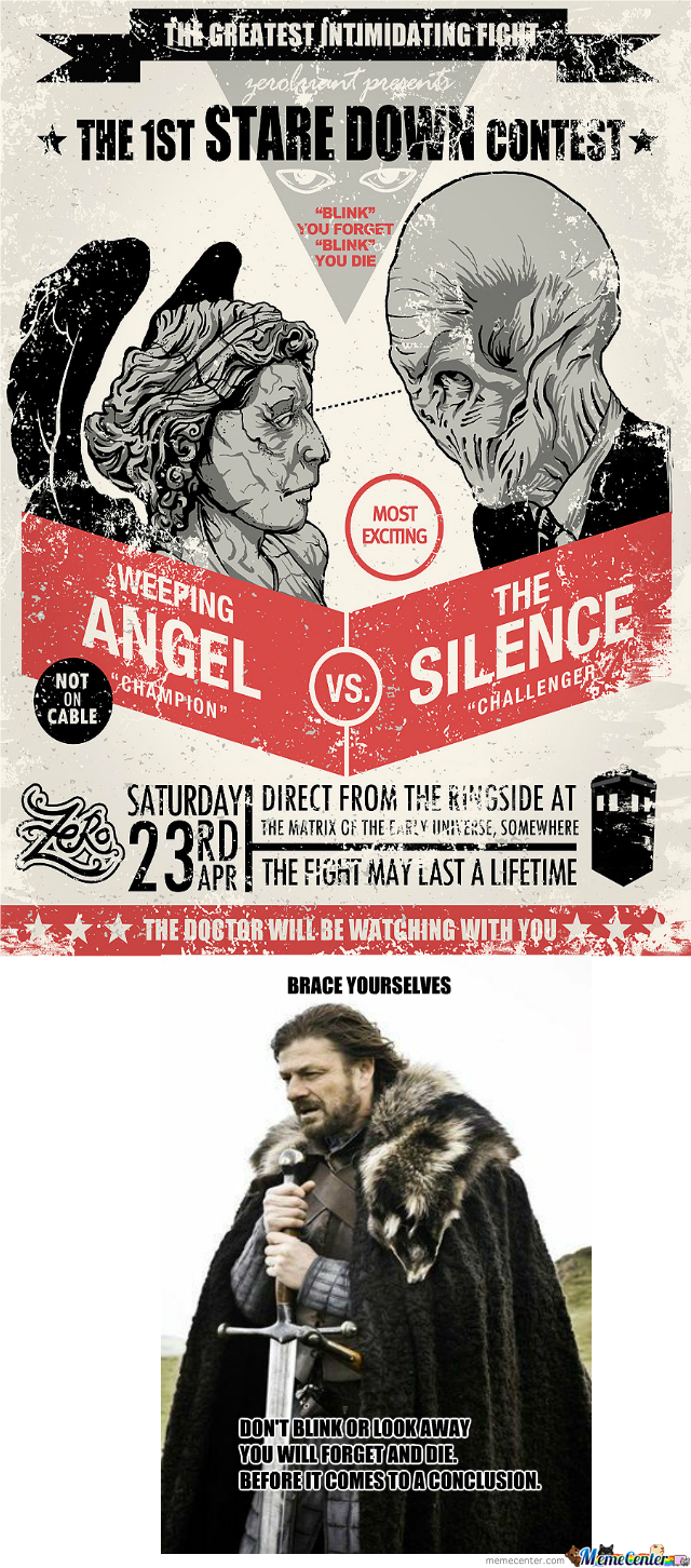 Doctor Who (The Silence Vs The Angels)