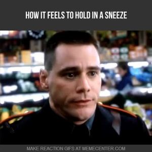 For a sneeze is an orgasm confirm. join