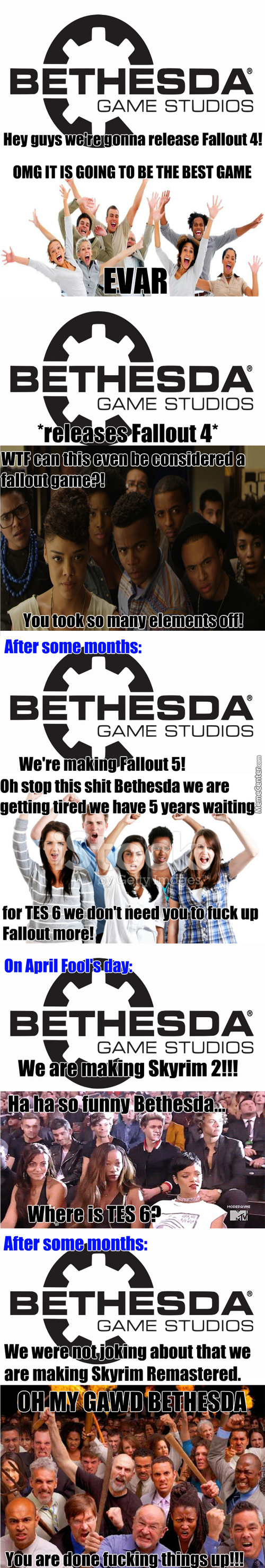 Does Bethesda Even Know What It's Doing Anymore?!