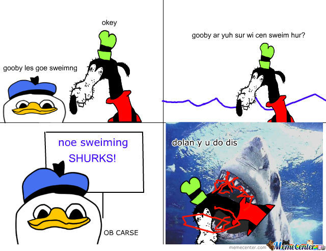 Dolan And Gooby Go Swimming