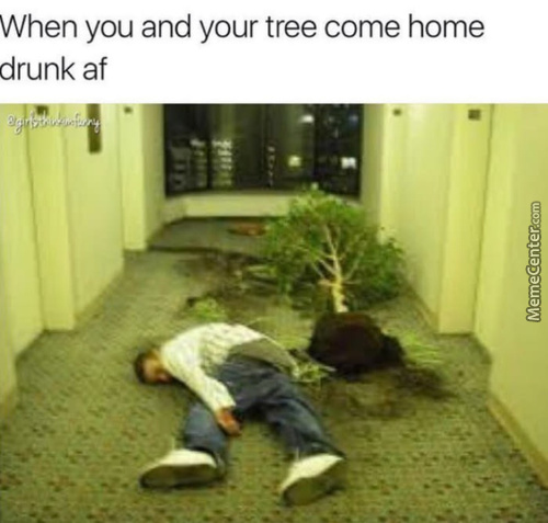 Don't Drink And Plant