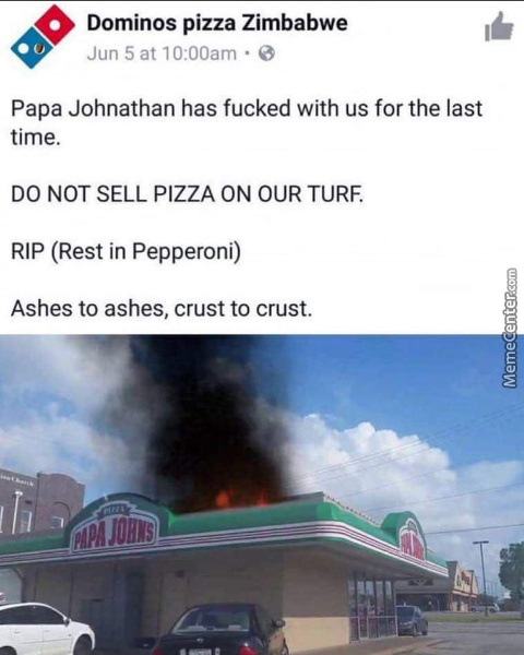 Don't F**k With Dominos