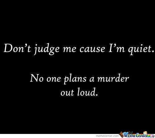 Rude Quotes For Bio: Don't Judge A Book By Its Cover By Smokingwolf