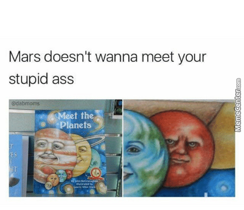 Don't Leave Your Kids Alone On Mars