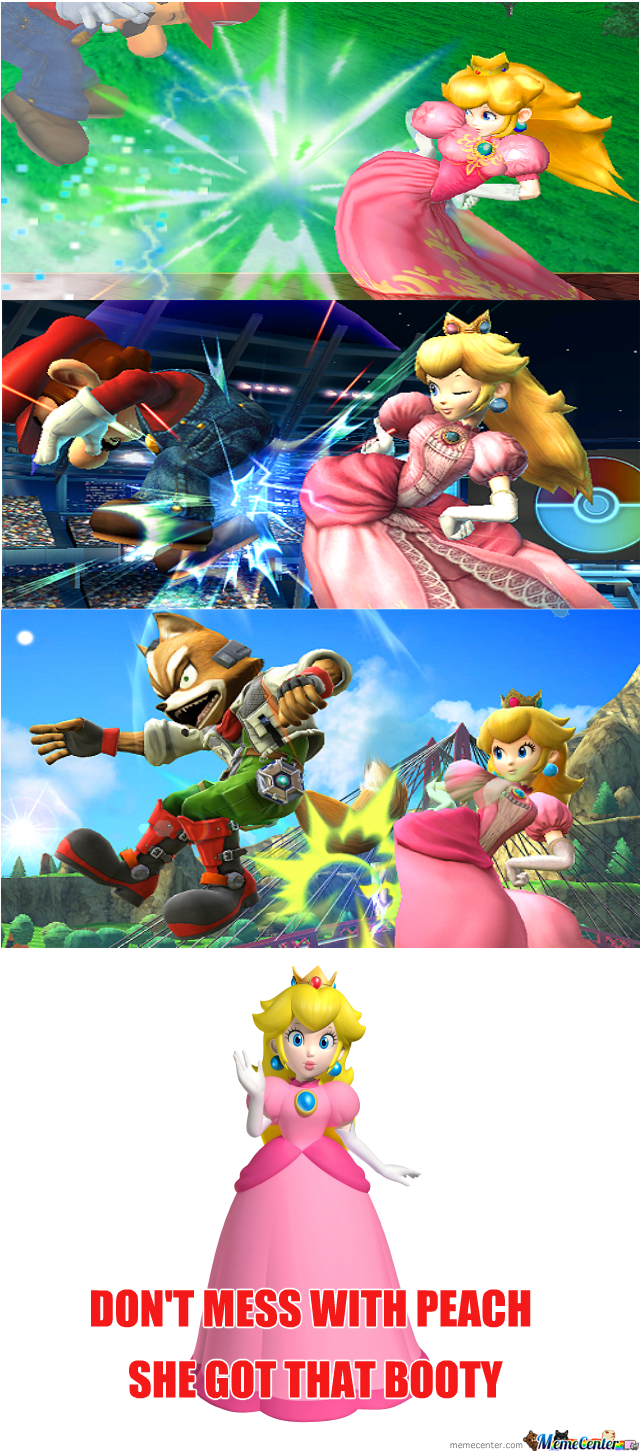 Don't Mess With Peach Booty