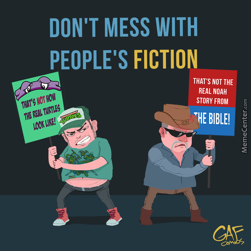 Don't Mess With People's Fiction