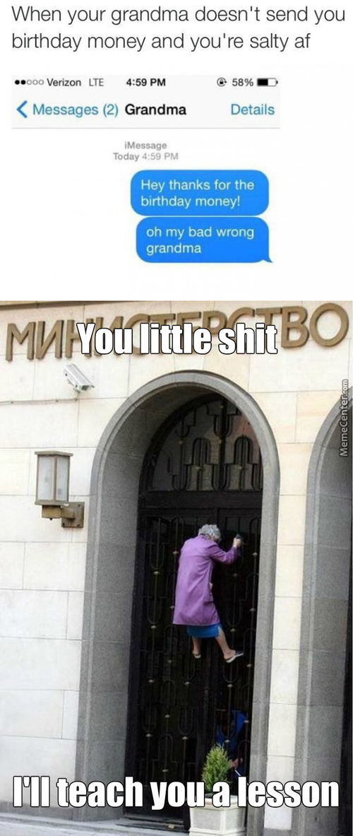 Don't Mess With The Wrong Grandma !!