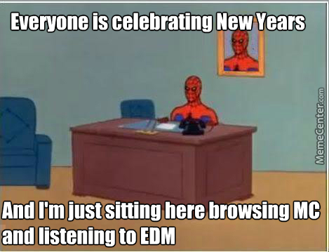 Don't Mind This Meme, It's Just Another New Years 60's Spiderman Meme (Happy New Years Tho!)