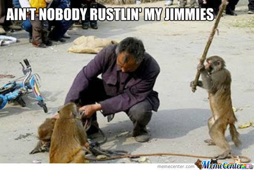 Don't Rustle My Jimmies!